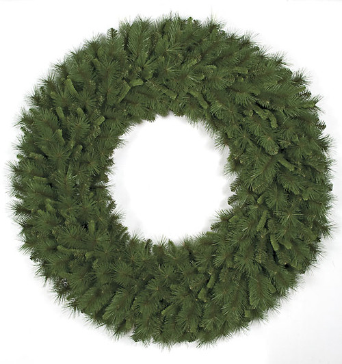 60 Inch PVC Mixed Pine Wreath