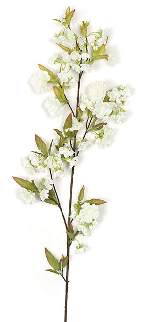 36 Inch Cherry Blossom Branch - Pink or White (Sold by the Dozen)