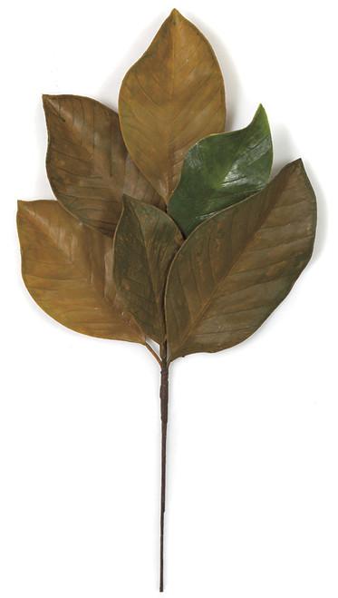 19.5 Inch Fall Magnolia Spray (sold per piece)