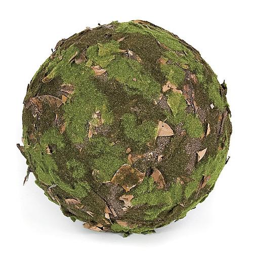 13 Inch Moss Leaf Ball