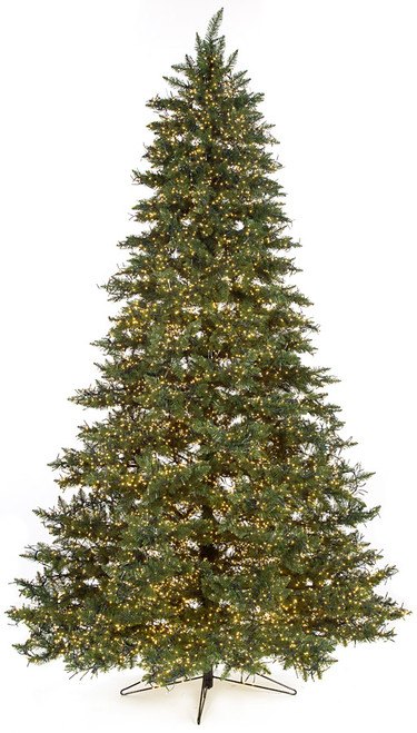 7.5 and 9 Foot Polaris Pine Tree with Multi-Functional LED Lights