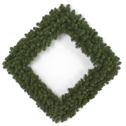48 Inch Square Pine Wreath