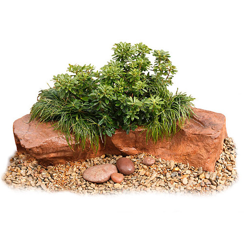 54 x 30 x 12 Inch Landscaping Planter Rock