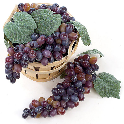 11 Inch Grape Cluster - Multi-Purple (Sold by Cluster)