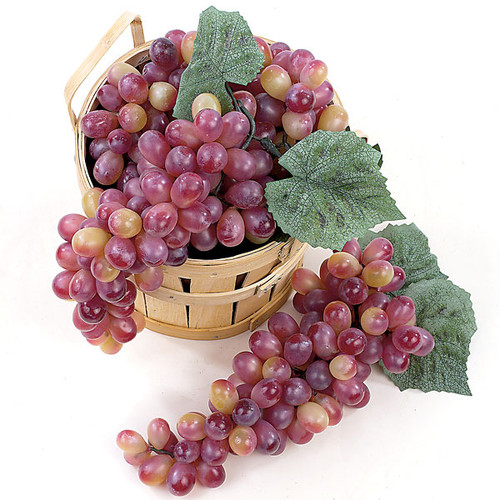 11 Inch Grape Cluster - Wine/Muscat  (Sold by Cluster)