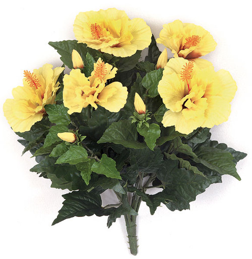 14 Inch IFR Hibiscus Bush - Yellow