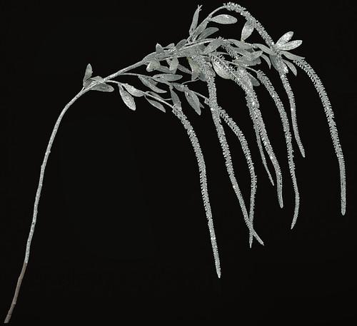 45 Inch Glittered Amaranthus