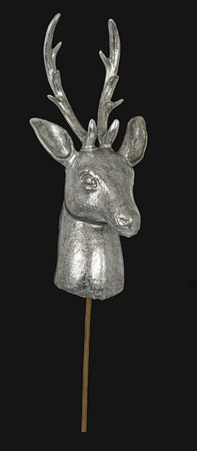 26 Inch Deco Deer Head