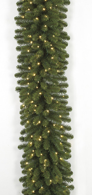 9 Foot x 18 Inch Commercial Pine Garland