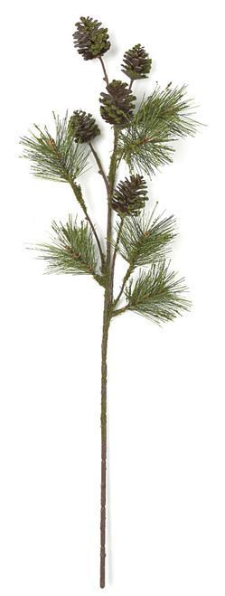 """A-172400 32"""" Pine Cone Spray"""