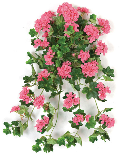 28 Inch IFR Lifelike Mauve Geranium Bush on Sale