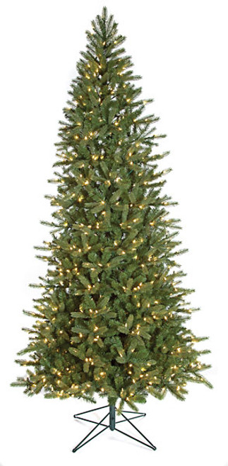 9 Foot Slim Spruce Tree with NO LIGHTS