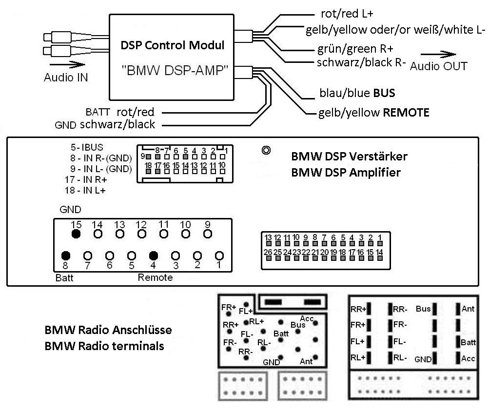 Bmw E39 Wiring Diagram Dsp - DIY Wiring Diagrams •