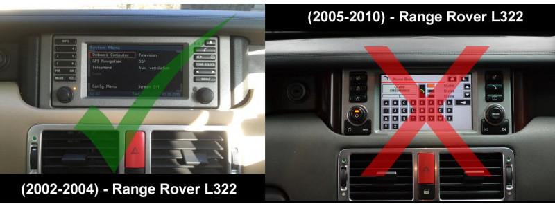 Range    Rover    20022004    L322    Radio s   Obstacles  Audio