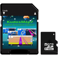 Official Kudos Sat Nav GPS Mapping On TF Or SD Card