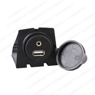 Factory Look AUX & USB Extension Sockets