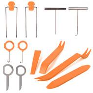 12 Peice Plastic Trim & Dash Removal Tool Set & Release Keys
