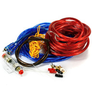 8 Gauge Amp AGU Wiring Kit 800w With RCA, Fuse & Cable Kit