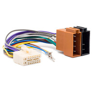 Clarion 16 Pin To ISO Wiring Harness Square Pin