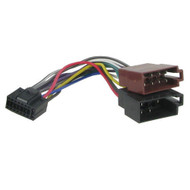 Kenwood 16 Pin To ISO Wiring Harness Square Pin