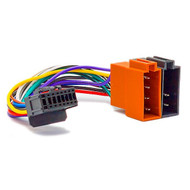 Pioneer 16 Pin To ISO Wiring Harness Square Pin DEH-P Series