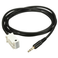 AUX 3.5mm Cable For Mercedes Factory Audio & Command Units