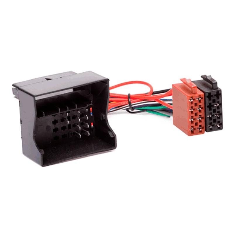 quadlock to iso radio wiring harness for audi seat skoda vw audio 2002 sebring wiring diagrams chrysler iso wiring adapter #36