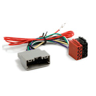 ISO Radio Wiring Harness Adaptor For Chrysler & Jeep Grey Plug