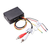 UG  FOB02 Fibre Optic Amp Decoder RCA Adaptor For MB & Porsche