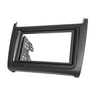 Carav 11-538 Black 2 DIN & RNS Shape Fascia For VW Polo 6C