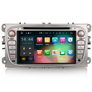 PbA FO5009F Android 6 Silver After-Market GPS Radio For Ford