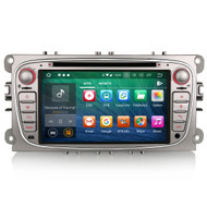 PbA FO7809F Android 8.0 Silver After-Market GPS Radio For Ford