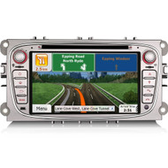 Direct Fit FO7189F After-Market GPS Sat-Nav Radio For Ford Focus