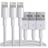 3x Lightning Sync Charger USB Data Cable For Apple iPhone iPad