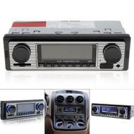 ITB CY47134 Classic Retro Look Mechless Single DIN Car Radio