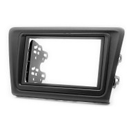 Carav 11-455 RNS-Shape & 2 DIN Fascia For SKODA Rapid (2013-On)