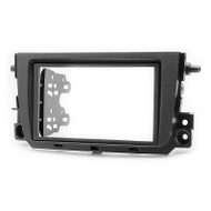 Carav 11-358 Double DIN Fascia Panel For SMART ForTwo (2011+)