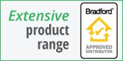 Extensive product range