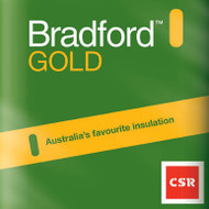 Bradford™ Gold batts commercial & steel framed R2.0 - 600mm x 1200mm from Ambisol