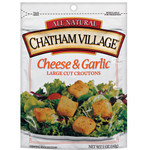 Chatham Village Cheese & Garlic Croutons (12x5 Oz)