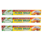 Biobag Cling Wrap Compost (12x62.3FT )
