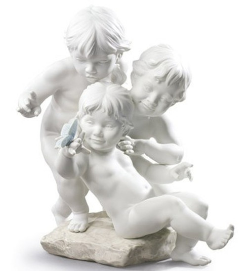 Lladro Children's curiosity 01009174