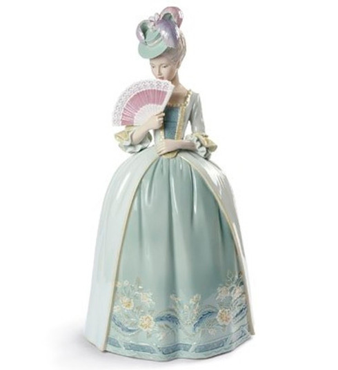 Lladro Porcelain kisses (blue) 01009201 / 9201