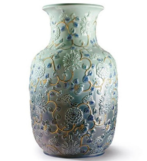 Lladro Peonies vase 01009211 / 9211