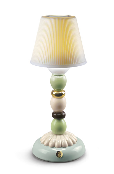 LLADRO PALM FIREFLY LAMP (GOLDEN FALL) 010023793 / 23793