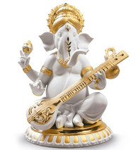 Lladro VEENA GANESHA (GOLDEN RE-DECO) 01009276 / 9276