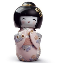 Lladro KOKESHI I (PINK) 01008708 / 8708
