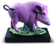 Lladro The Boar Figurine. Limited Edition 01009120