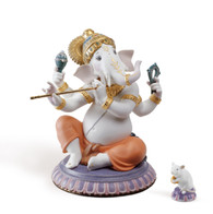 LLADRO BANSURI GANESHA (LIMITED EDITION) (01007182 / 7182)