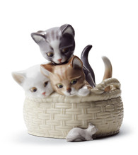 LLADRO CURIOUS KITTENS (01008693 / 8693)